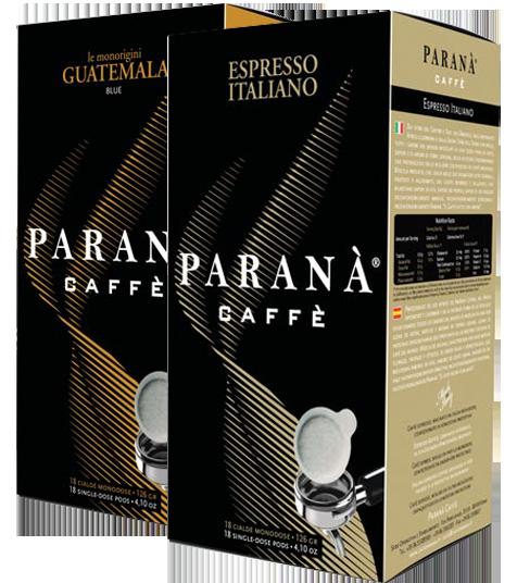 Caffe Parana εσπρέσο σε χάρτινες αμπούλες